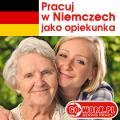 Praca w charakterze Opiekunki osób starszych w Niemczech, 1100 euro/miesiąc.